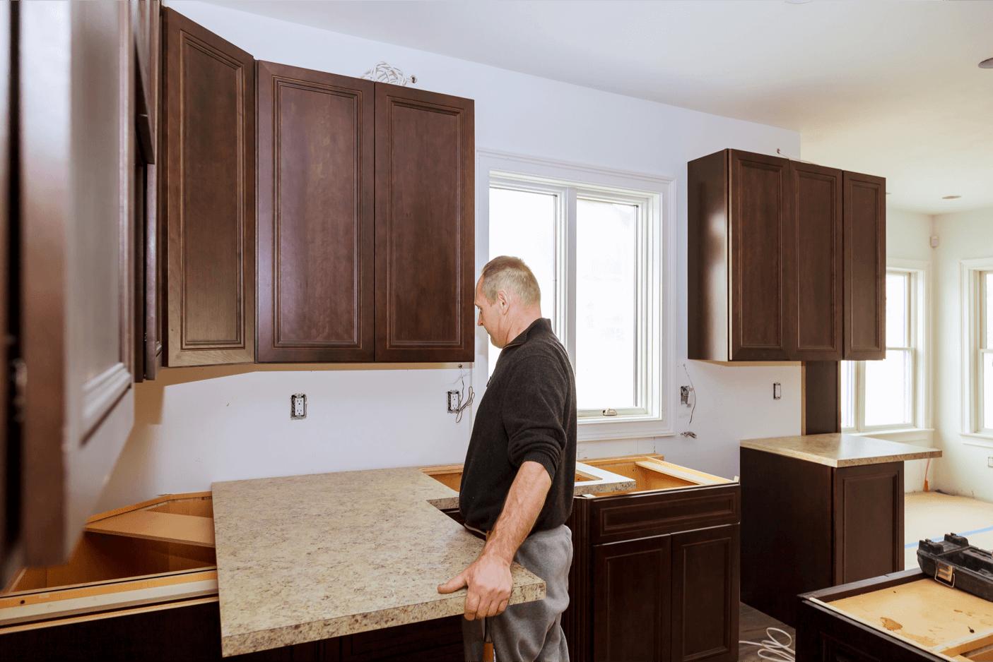 Cabinet & Countertop Installation