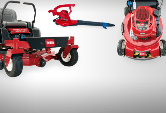Products provided by Toro